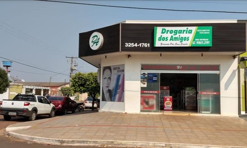 ANTIGA FARMAIS AGORA E DROGARIA DOS AMIGOS E ESTA COM UMA CAMPANHA DE R$10 MIL EM PRÊMIOS