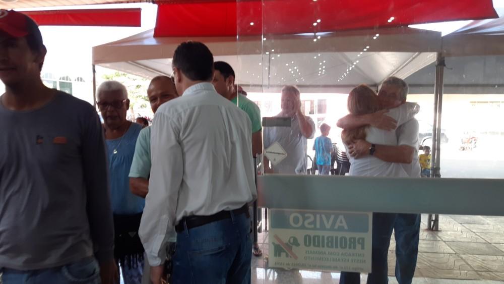 Confira a cobertura da grande reinauguração do Amigão Supermercado em Sonora MS