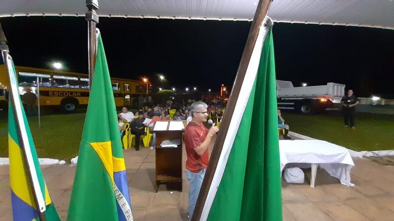 Confira a cobertura da Entrega de veículos assinatura de ordens de serviços e a abertura da Copa Sonora de Futsal