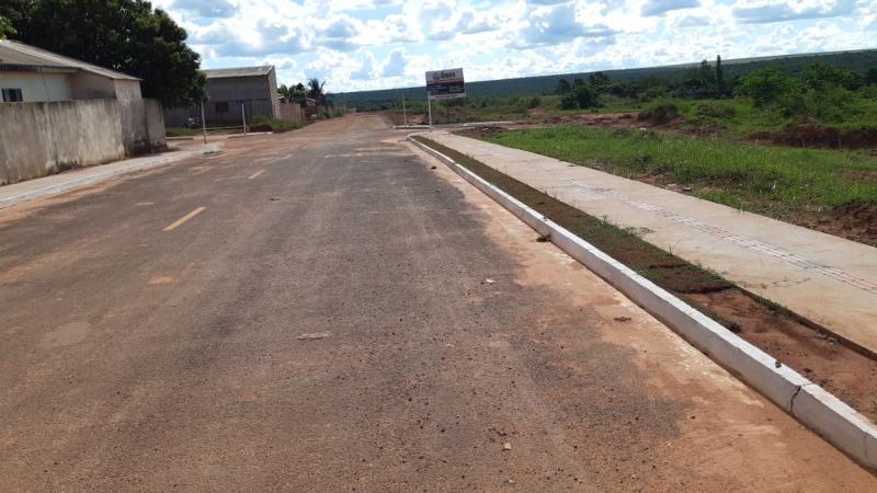 Confira a cobertura dos avanços da obra de pavimentação em Sonora-MS