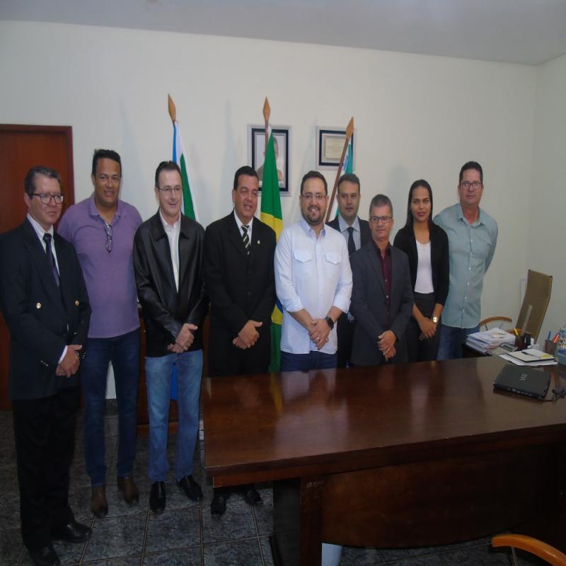 VISITA DO DEPUTADO MARCIO FERNANDES EM SONORA MS