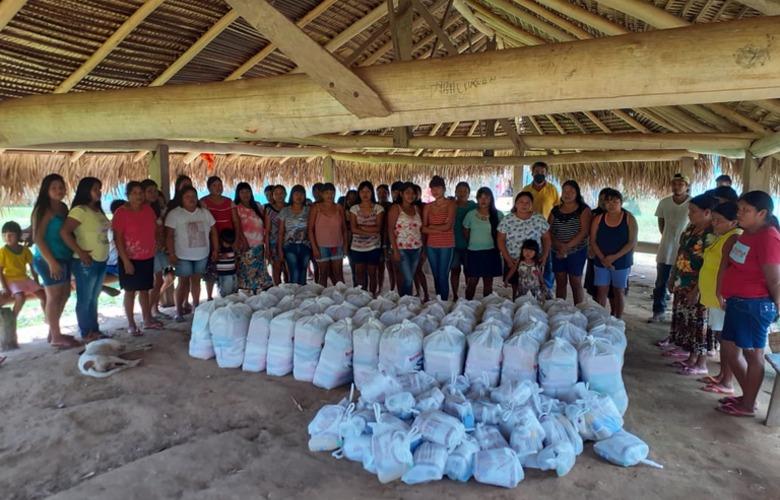 Funai entrega mais de 17 mil cestas básicas a comunidades indígenas
