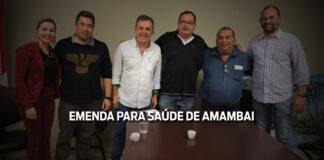 Amambai recebe emenda de R$ 500 mil de Vander para custeio na saúde