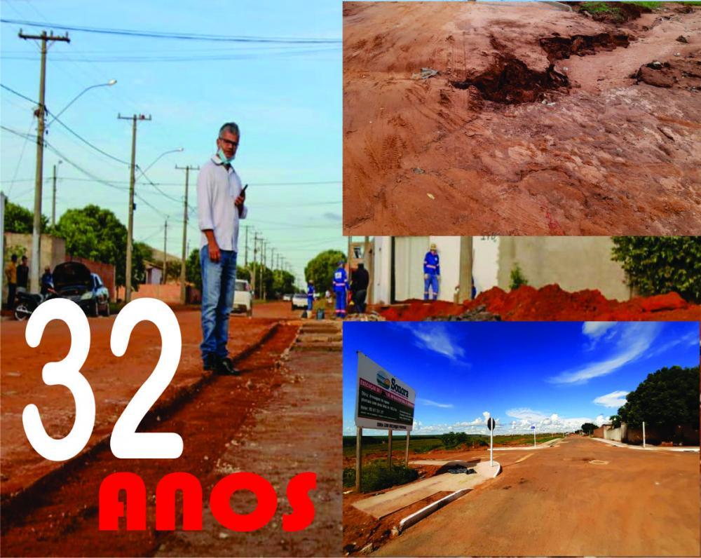 SONORA-MS  Trabalho 32 anos: Enelto Ramos garante