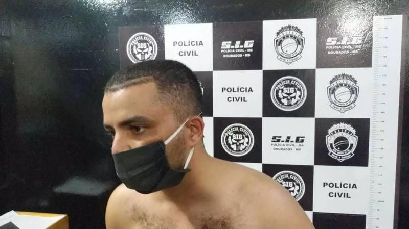 DOURADOS-MS| Barbeiro que matou secretário é esquizofrênico e abandonou tratamento