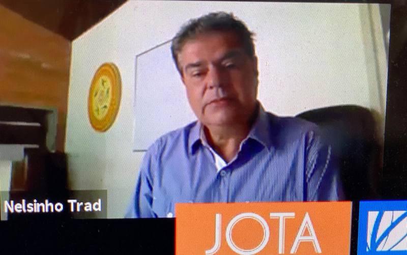 Senador Nelsinho Trad destaca a importância da imagem e segurança jurídica no Brasil para atrair novos investidores estrangeiros