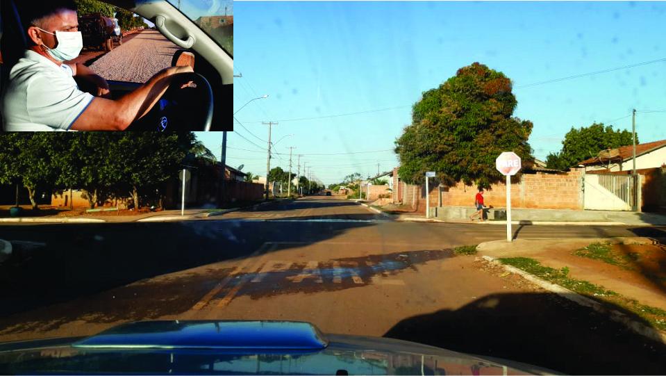 SONORA-MS  Prefeito Enelto acompanha drenagem e pavimentação no Jardim dos Estados onde bairro está ganhando status de área nobre e centos de cidade