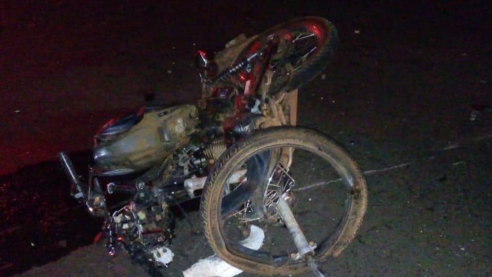 SONORA  Homem morre ao invadir pista contrária e colidir de frente com caminhão na BR-163
