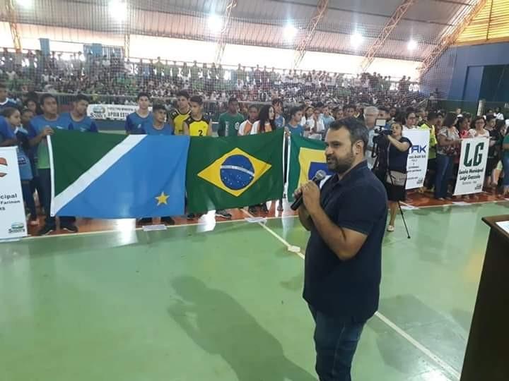 SONORA-MS| Com participação de 300 alunos prefeitura Câmara e departamento de esportes iniciam Jogos Escolares 2019