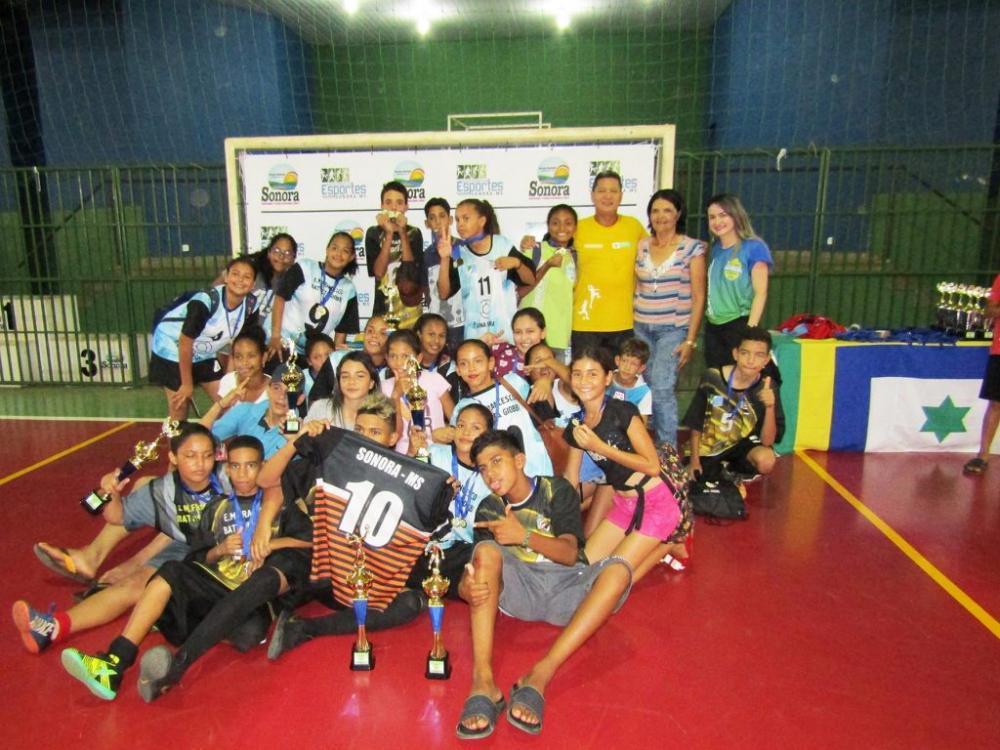 SONORA-MS| Escola Giobbi é grande campeã dos Jogos Escolares 2019 de Sonora