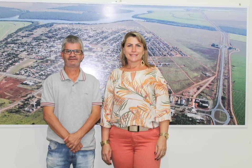 SONORA-MS  Prefeito Enelto Ramos apresenta nova gerente de Assistencial Social