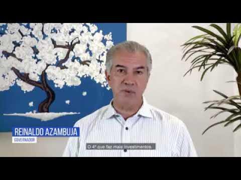 GOVERNADOR REINALDO COM TRABALHO DESEJOU FELIZ 2020